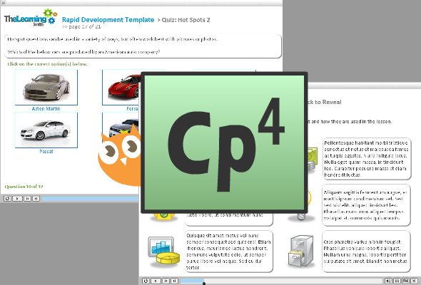 Adobe Captivate 4 eLearning Template