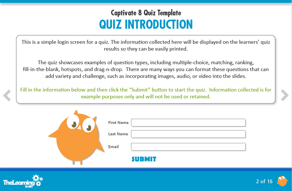 Outline Trivia Quizzes and Games
